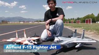 Airfield F15 Brushless EDF Fighter Jet Review