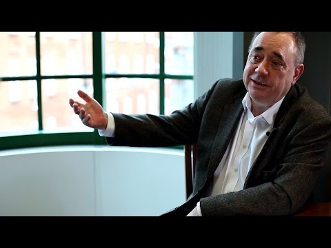 Alex Salmond interview: North Sea oil, energy and fracking in Scotland