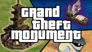Grand Theft Monument!?