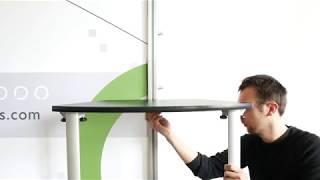 Exhibitline Straight Leg Counter Instructional Video