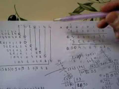 Maths multiplier sans conna tre ses tables de for Connaitre ses tables de multiplication