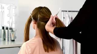 Ponytail Hairstyle ¦ The Spiral Ponytail