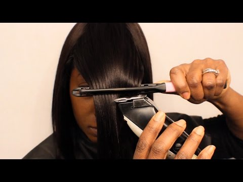 Best Bob with a Bang Clippers Technique (Sensationnel Premium Next Hair Review)