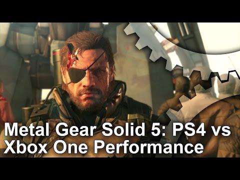 メタルギアソリッド5のフレームレートを比較検証(PS4とXbox One)の動画サムネイル画像