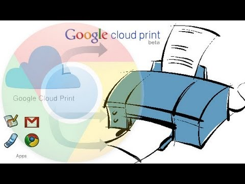 Print from anywhere to your printer using Google Cloud Print