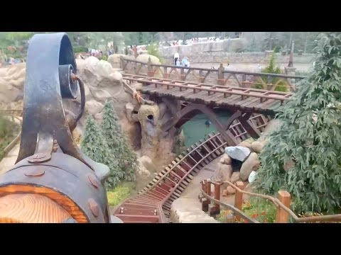 Seven Dwarfs Mine Train Roller Coaster REAL POV Full Ride Walt Disney World Magic Kingdom Music Videos