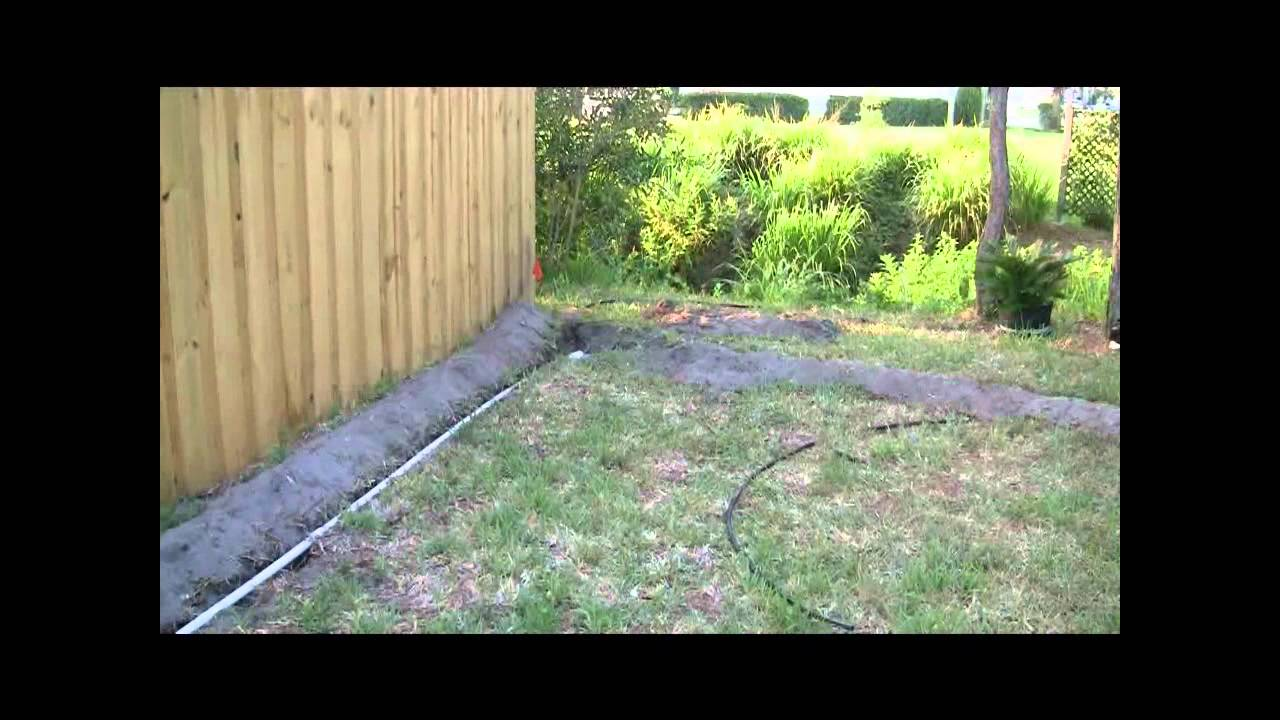 diy sprinkler system install part 2 of 3 youtube