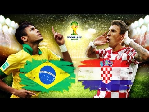 Brazil vs Croatia ( 3-1 ) 12 06 2014 All Goals World Cup Brazil 2014 HD