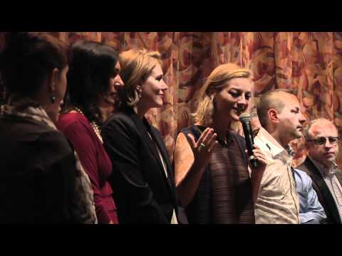 DocuDay 2012 - Q&A with Lucy Walker & Kira Carstensen (The Tsunami and the Cherry Blossom)