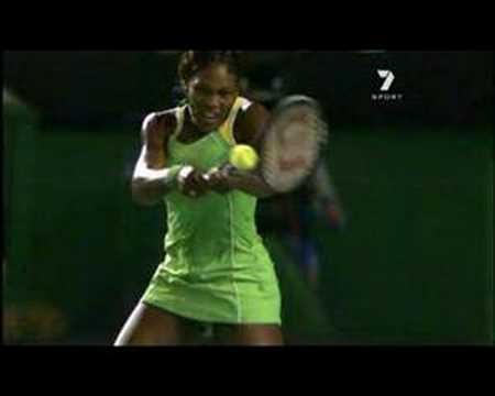 Serena Williams - Slow Motion Double-Handed Topspin Backhand