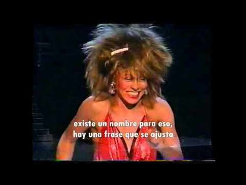 Tina Turner - What's love got to do with it (Subtítulos español)