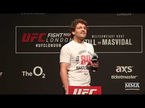 Darren Till Interrupts Ben Askren UFC London Fan Q&A With Double-Fingered Salute - MMA Fighting
