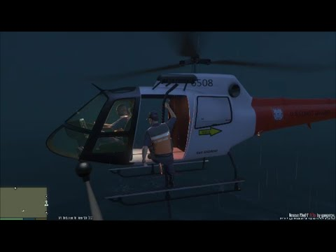 GTA 5 | Rescue Mod V By Gangrenn Day 3 | Coast Guard Mod |