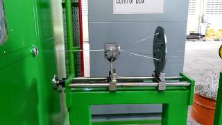 1250 bow style wire and cable bunching machine