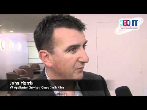 John Harris from GlaxoSmithKline speaks about the Corporate IT Forum at 360ºIT