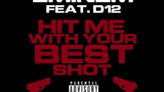 Watch D12 Hit Me With Your Best Shot video