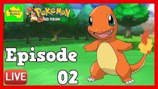 Pokémon Red Version - 🔴LIVE EPISODE 02- Brock's Rock Gym