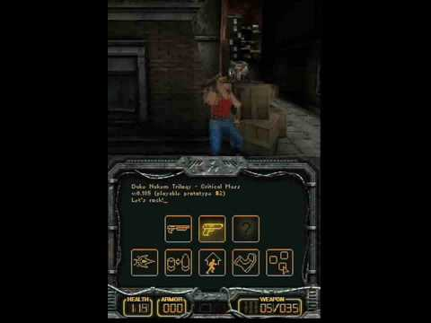 Duke Nukem: Critical Mass (Nintendo DS Teaser Trailer)