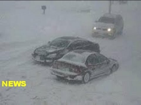 Snow Storm East Coast US October 29th 2011 New York New Jersey Connecticut News Story