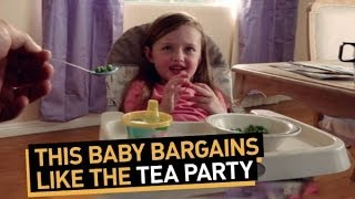 This Baby Bargains Like The Tea Party