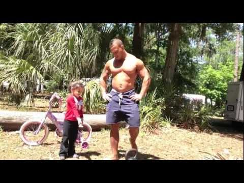 Outdoor Kettlebell Workout (while camping with my kids)