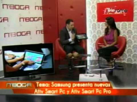 Samsung presenta nuevas Ativ Smart Pc y Ativ Smart Pc Pro