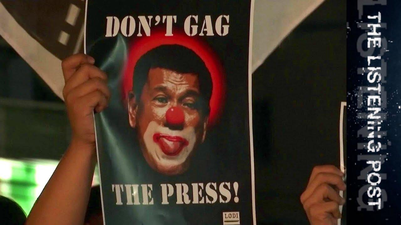 Duterte vs Rappler: Media on notice in the Philippines - The Listening Post (Full)