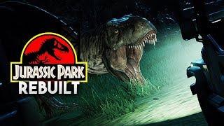 THE T.REX PADDOCK | Jurassic Park 1993 Rebuilt (Jurassic World: Evolution)
