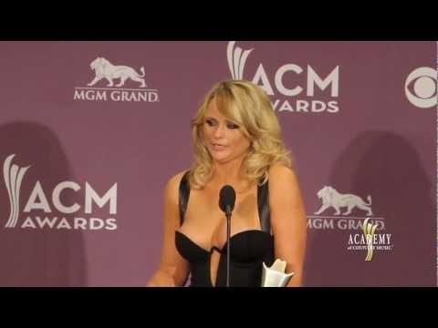 2013 ACM Awards Press Room - Miranda Lambert