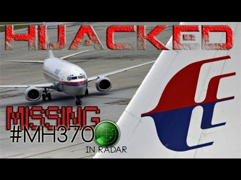 Video missing plane MH370 (Malaysia Airlines) from radar
