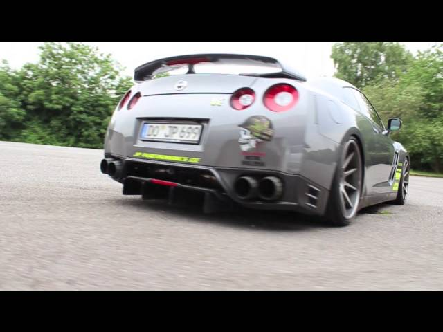 NISSAN GTR R35 JP PERFORMANCE - YouTube