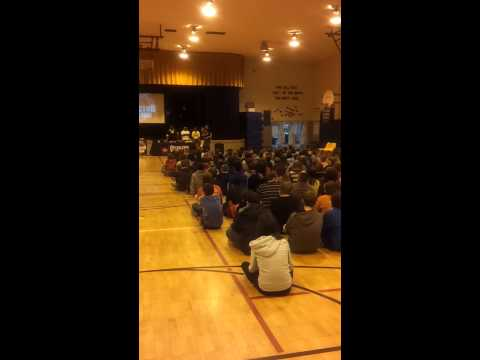 509 Reactors @ Glover middle school 7th graders