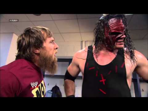 Kane and Daniel Bryan are attacked while arguing about their match against The Shield: Raw, April 22