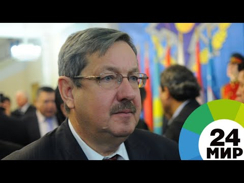 Выборы с акцентом: в Душанбе проголосовал посол России в Таджикистане - МИР 24