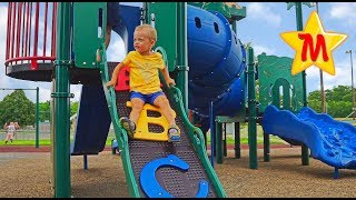 Favorite and Best Playgrounds Nursery Rhymes Songs Compilation Max Goes on Big Slides
