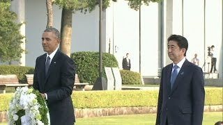 President Obama, Japanese Prime Minister Abe make historic visit to Pearl Harbor
