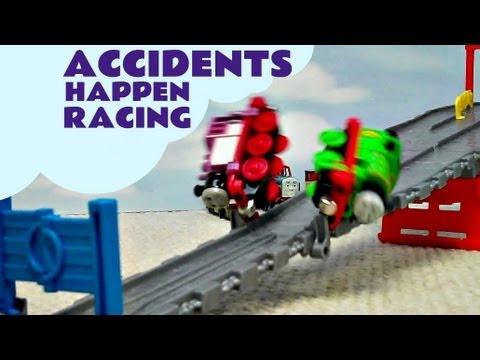 Accidents Happen Thomas & Friends Take N Play Go Go Speedy Railway Kids Toy Train Set
