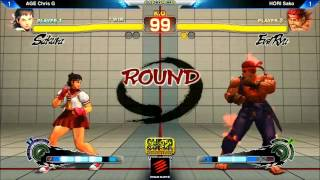 SSF4AE AGE Chris G vs HORI Sako - Capcom-Cup 2013