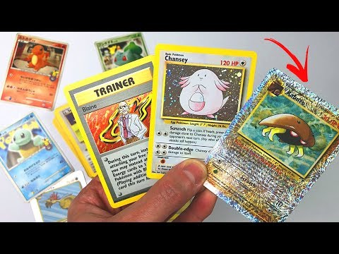 VINTAGE POKEMON CARDS MYSTERY BOX Unboxing Haul! Legendary Collection, Fossil, Jungle & More!