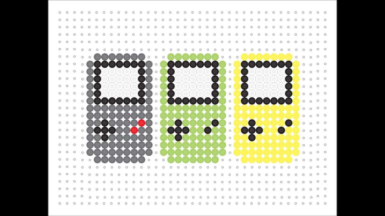 Color Bead Game Hama Bead Game Boy Colour