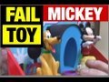 FAIL DISNEY MICKEY Toy FUNNY Product Review by Mike Mozart of Je Video