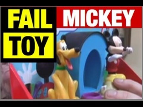 FAIL DISNEY MICKEY Toy FUNNY Product Review by Mike Mozart of JeepersMedia