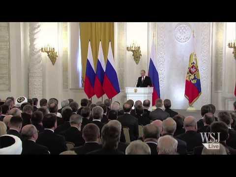 "Putin on Crimea: ""A Question of a Life Importance"""