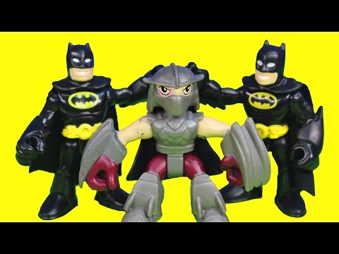Shredder Turns Into Imaginext Batman Tries To Capture Teenage Mutant Ninja Tmnt Just4fun290 video