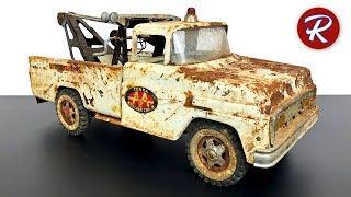 1960s Tonka Tow Truck Restoration - Toy AA Wrecker