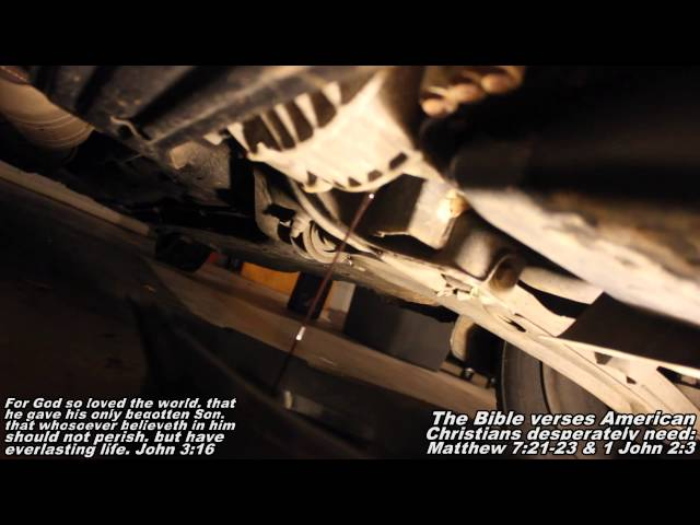 """ATF Automatic Transmission Fluid Drain & Refill """"How to ..."""
