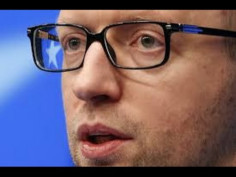 Yatsenyuk's head too small for Ukrainian government?