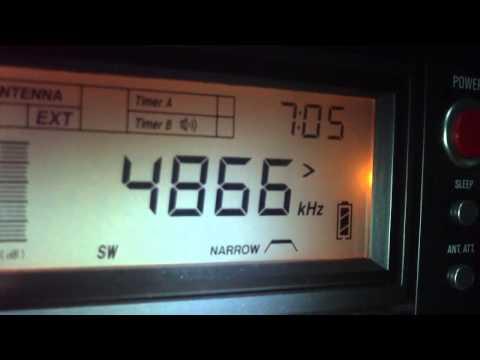 4865 khz Radio Verdes Florestas [com QRM] , Cruzeiro do Sul , Acre, Brazil