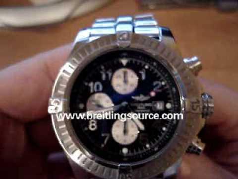 Breitling Super Avenger Black Dial Breitling Super Avenger Review