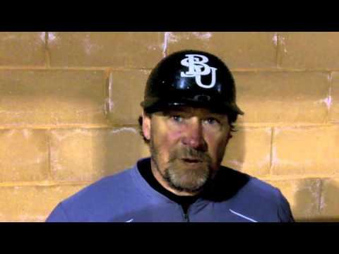 Bemidji State Baseball Post-Game vs the University of Sioux Falls - April 15, 2016